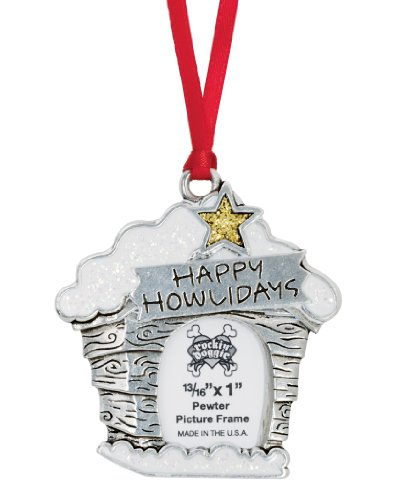Happy Howlidays Photo Ornament