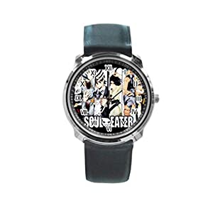 Soul Eater Round Metal Wrist Watch for Unisex men women Fashion Hot Gift NEW