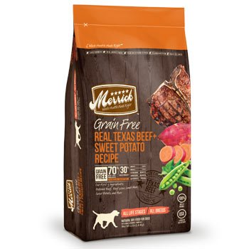 Merrick Grain Free Real Texas Beef and Sweet Potato - 25lb