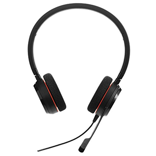 Jabra Evoive 20 UC Stereo On the Ear Headset