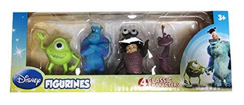 Disney's Monsters Inc. Figurine Toys Set - 4 Pack (Monster Inc Figures compare prices)