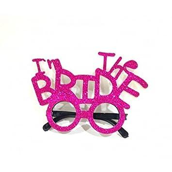 buy online glasses pcjb  Theme My Party I'm Bride Eye Glasses Pink
