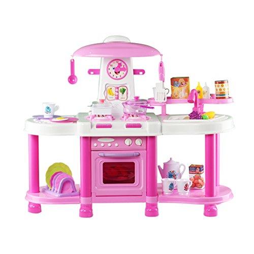 k6p-deao-cucina-di-giocattolo-con-luci-e-suoni-accessori-inclusi-rossa