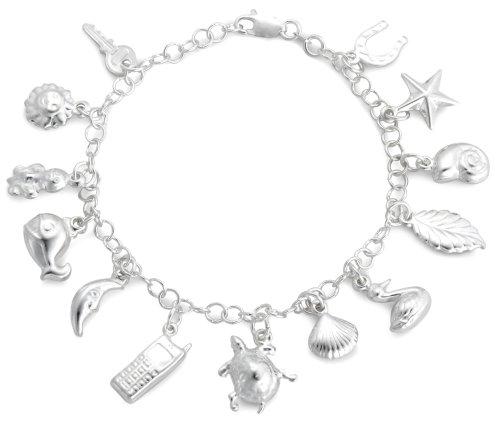 Belcher Bracelet, Silver, 18cm Length, Model 8.24.4891