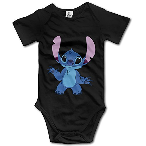 ANVY Baby's Stitch Stitchie Shortsleeves With No Pocket Black Size12 Months (Party City Richardson)