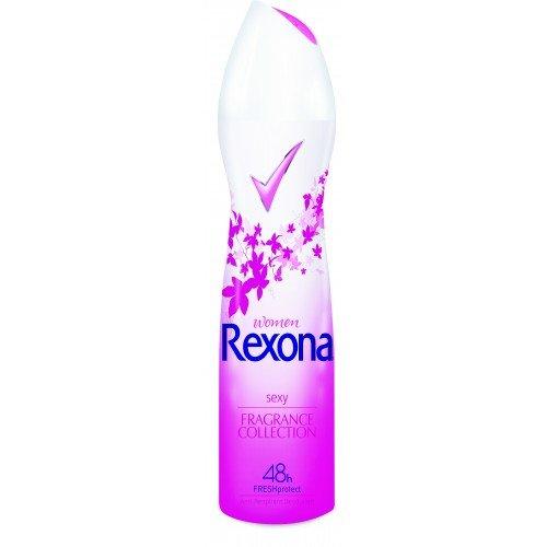 レクソーナ 制汗スプレー デオドラントセクシーフォーミュラ Rexona Spray Deodorant Sexy Formula 150 ml.