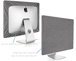 Kuzy - GRAY Screen Cover for iMac 21.5