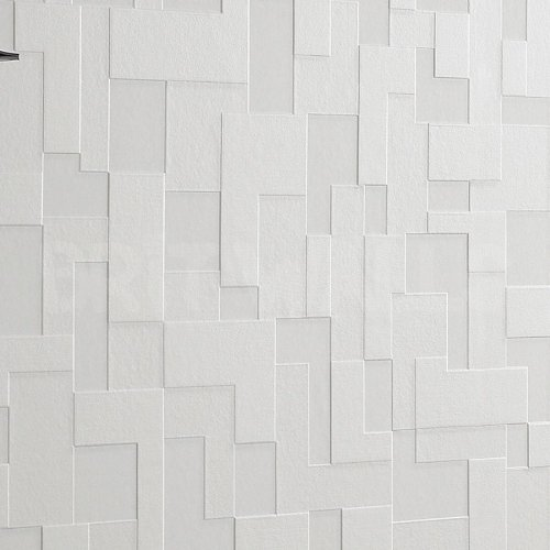 3d block 39 white brick effect wallpaper by wallpaper heaven for 3d brick wallpaper uk