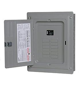 Siemens 12 Space, 24, Circuit, 100 Amp, Main Breaker, Indoor Load Center, Copper Bus Bars