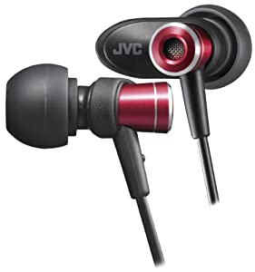 JVC HAFXC51R Headphones, Micro, HD (Discontinued by Manufacturer)