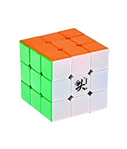 Dayan ZhanChi 3x3x3 6-Color Stickerless Speed Cube