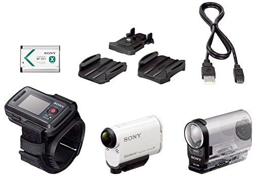 Sony Action Cam HDR-AS200VR - Videocámara deportiva (Full HD, resistente a salpicaduras, WI-FI, NFC, GPS y ki 199.00€
