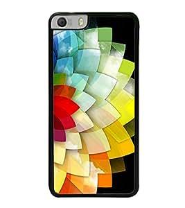 Multi Colour Flower Pattern 2D Hard Polycarbonate Designer Back Case Cover for Micromax Canvas Knight 2 E471