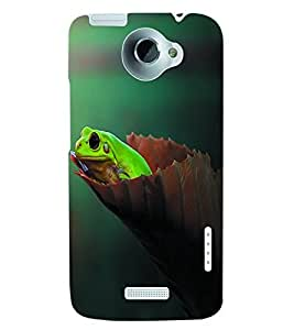 ColourCraft Nature Back Case Cover for HTC ONE X