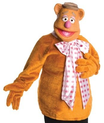 Rubies Adult Muppets Fozzie Bear Costume Mens