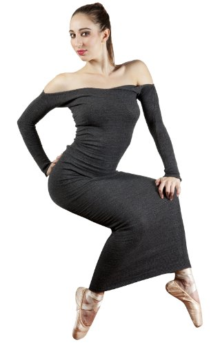 Black & Metallic Gold Extra Large Elegant Ankle Length Maxi Sexy Sweater Cocktail Party Dress by KD dance, Stretch Knit, Luxurious & Warm Made In New York City USA
