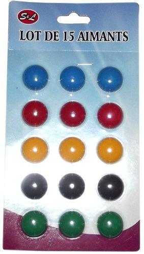 MAGNET-AIMANT-STICKERS-PETIT-ROND-FRIGO-TABLEAU-PAR-15-NEUF-SOUS-BLISTER
