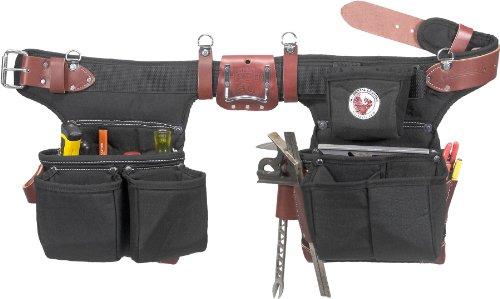 Occidental Leather 9515LH - Cintura porta attrezzi da carpentiere OxyLight, per mancini, con sistema di regolazione Adjust-to-Fit