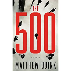 The 500: A Novel Hardcover Book