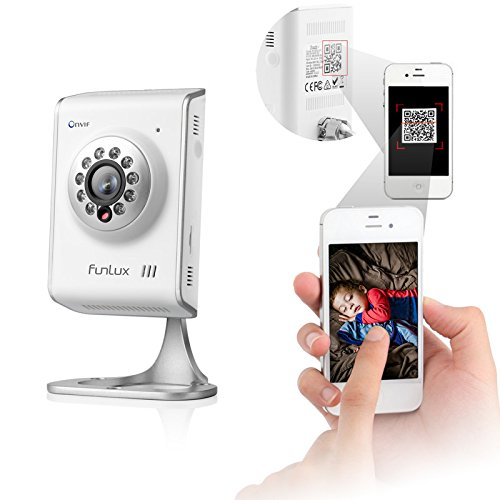 Cheap Funlux Wireless Mini IP Wifi Camera 720P HD Network Home CCTV Audio/Video Security Camera Scan...