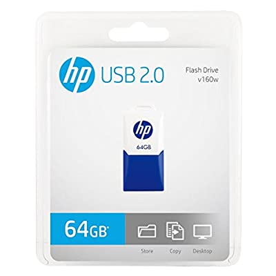 HP v160w 16GB Pen Drive (Navy Blue/Off White)