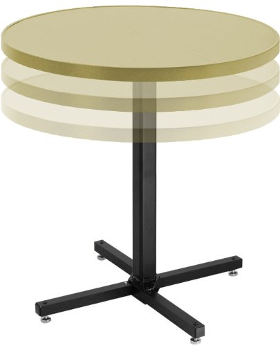 Cheap Adjustable Coffee Table W Round Alulite Adjustable - Adjustable height cocktail table