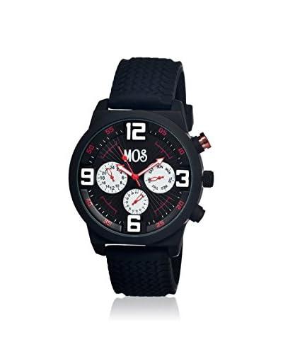 Mos Men's MOSPR101 Paris Black Silicone Watch