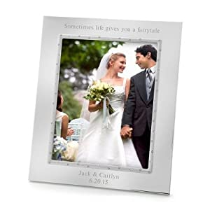 Personalized Wedding Picture Frames 8x10 : Amazon.comLenox Devotion 8x10 Wedding FramePersonalized W -