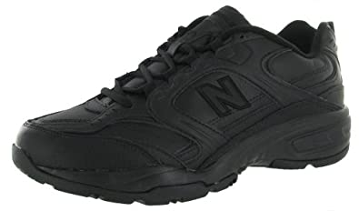 Men's New Balance 407 Athletic Shoes Black, BLACK, 10(4E)