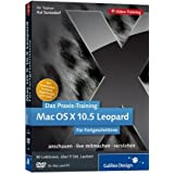 "Das Praxis-Training Mac OS X 10.5 Leopard. Das Video-Training f�r Fortgeschrittenevon ""Galileo Press"""