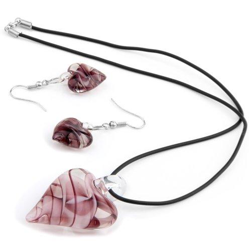 ecloud-shop-patron-en-forma-de-corazon-purpura-alrededor-del-paquetes-combinados-cristal-col