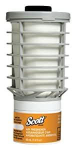Scott Air Freshener Refill (91067), Citrus, Automatic / Continuous Release, 6 Refills / Case