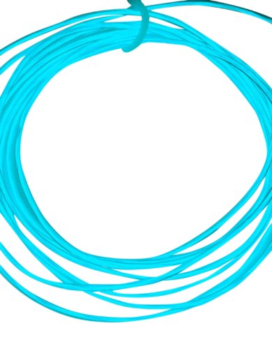 Battery-Operated Electroluminescent (El) Wire - 6Ft (1.8M) Long - Teal