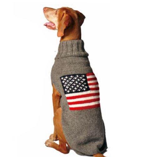 Dog Sweaters For Large Dogs Flag Dog Sweater X-large
