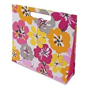 Capri Designs File Tote - Cotton Blossom