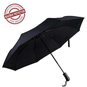 Mysuntown Customization Travel Umbrella Auto Open Close Fiberglass Reinforced 8-Rib With A Beautiful Box