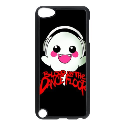 D-2 Music Band Blood on the Dance Floor Print Black Case With Hard Shell Cover for iPod Touch 5th