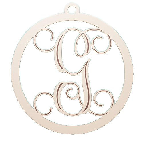 Glory Haus Cream Wooden Letter G Wall Hanging, 24 x 23-Inch