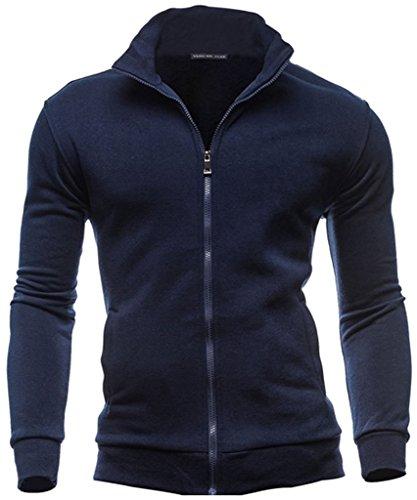 mens-basic-hooded-long-sleeve-zip-up-jacket-fleece-hoodie