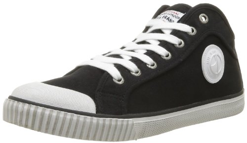 Pepe Jeans Mens Industry IN-291 F High-Top PMS30011 Black 45 EU/10.5 UK
