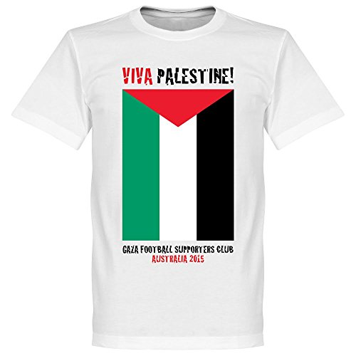 Viva Palestine Tee - White - XXXL (Palestine Football Jersey compare prices)