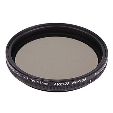 Pixel 58Mm Neutral Density Filter Nd2 Nd400 With Lens Cap