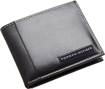 Tommy Hilfiger Men?s Cambridge Passcase, Black, One Size