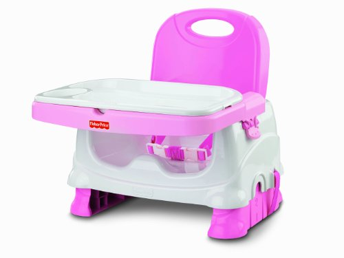 Fisher-Price Healthy Care Deluxe Booster Seat, Pink