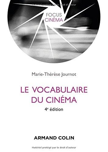 Le vocabulaire du cinéma – 4e édition