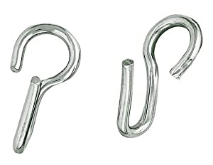 Weaver Leather HEAVY DUTY SS CURB CHAIN HOOKS