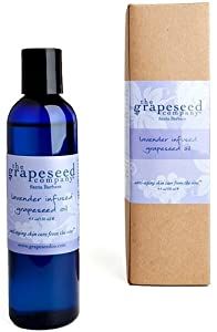 The Grapeseed Company Lavender Infused Grapeseed Oil - 4.4 oz.