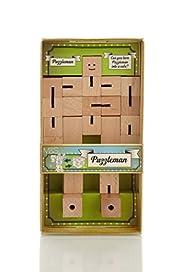 Gift Bazaar Wooden Puzzleman [T40-1572G-S]