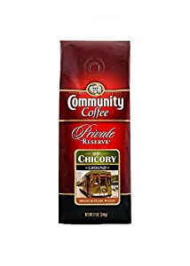 Community Coffee Private Reserve Ground Chicory, 12 oz., 6 Count