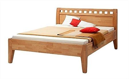 MS-Schuon Bett Comfort 500 Buche massiv Komfort Bettgestell aus massivem Buchen Holz - Grösse 160x200